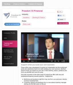 Visit Freedom 55 Financial's employer profile on TalentEgg.ca