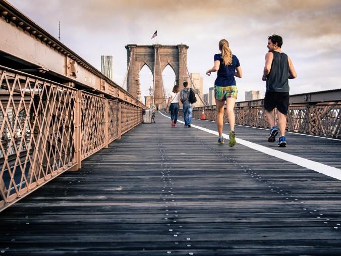 Fitness Running People